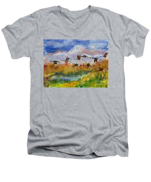 Flying South Men's V-Neck T-Shirt