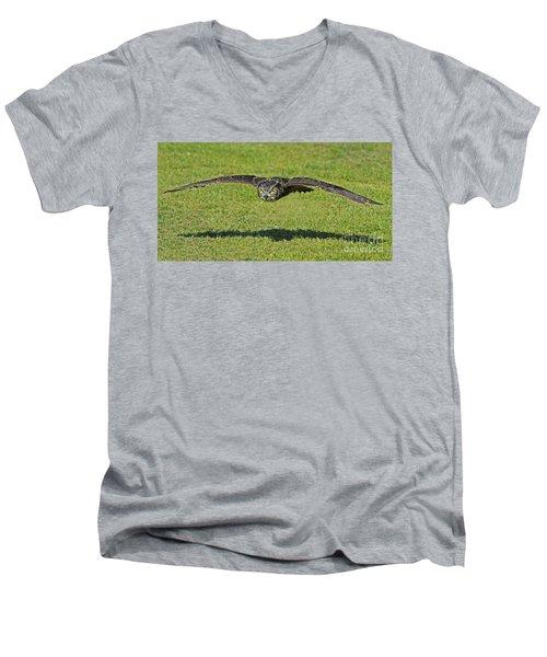 Flying Tiger... Men's V-Neck T-Shirt