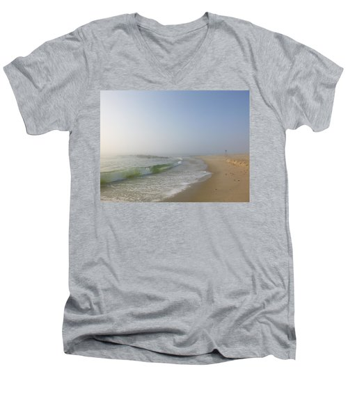 Fog And Blue Sky 2 Men's V-Neck T-Shirt