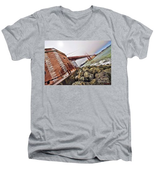 Foggy Gates Men's V-Neck T-Shirt