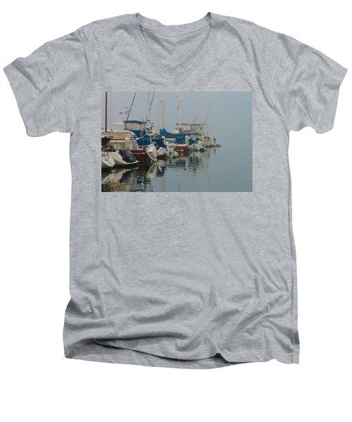 Foggy Harbor Men's V-Neck T-Shirt