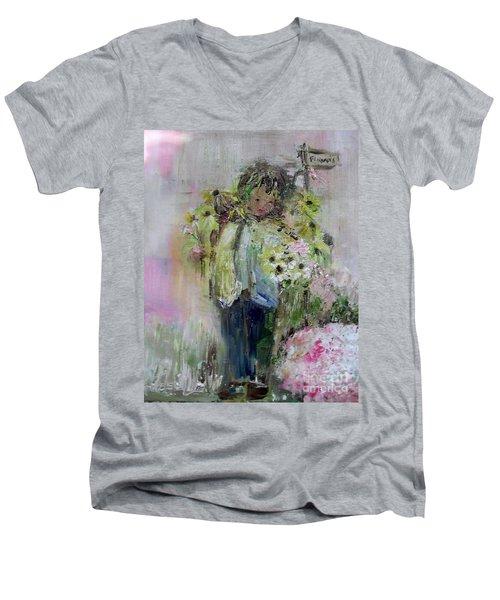 For My Mother Men's V-Neck T-Shirt