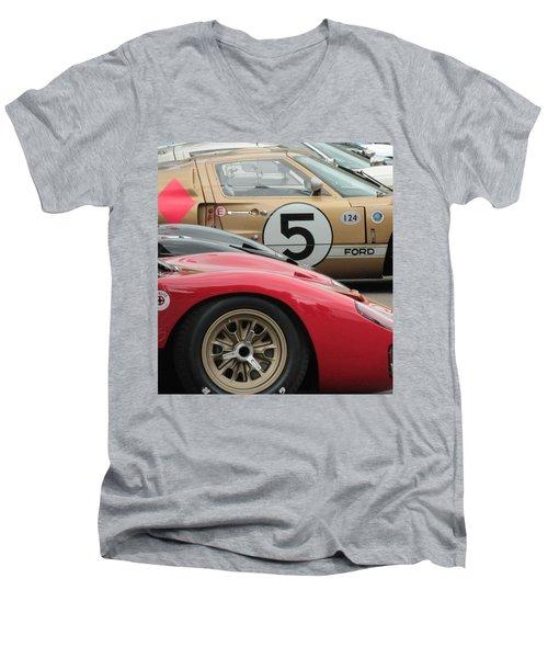 Ford Gt 40's Men's V-Neck T-Shirt