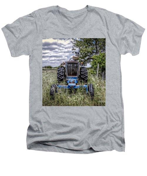 Ford Men's V-Neck T-Shirt by Savannah Gibbs