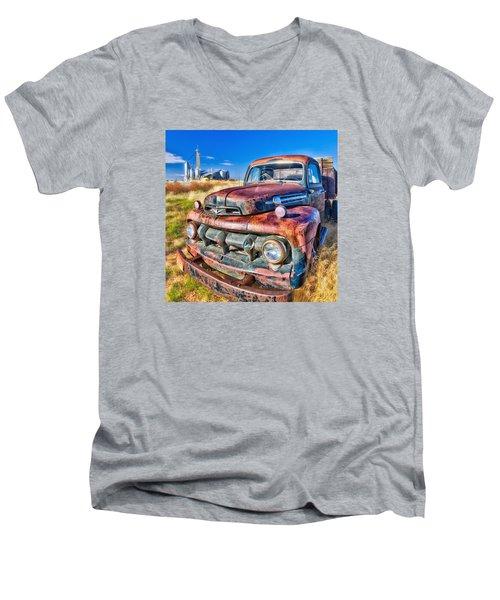 Looking For Work Men's V-Neck T-Shirt