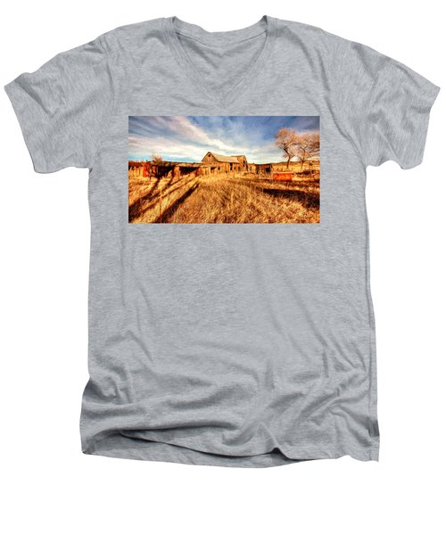Forgotten Farm Men's V-Neck T-Shirt