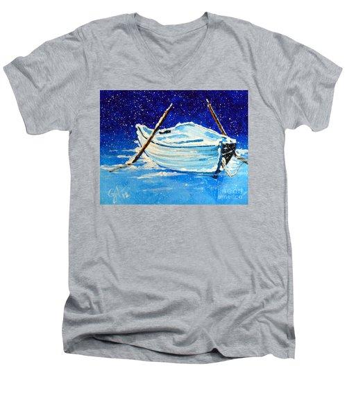 Forgotten Rowboat Men's V-Neck T-Shirt