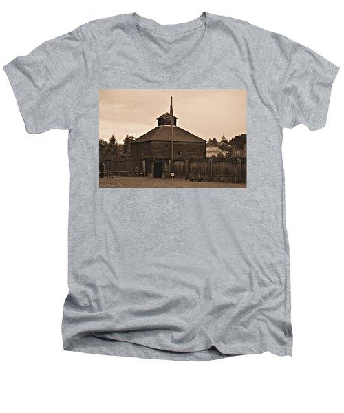 Fort Western Men's V-Neck T-Shirt
