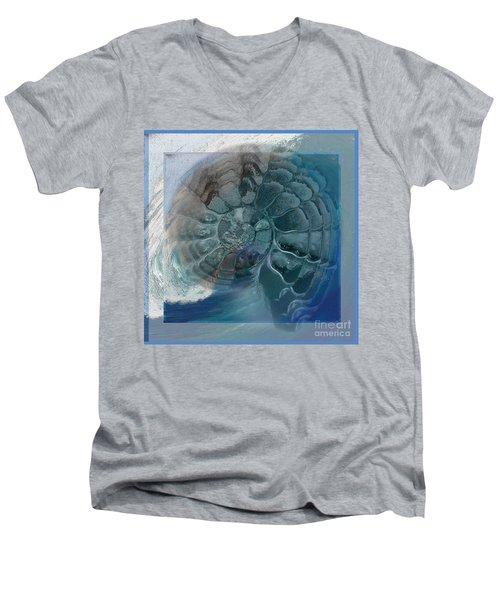 Fossil Ocean Men's V-Neck T-Shirt