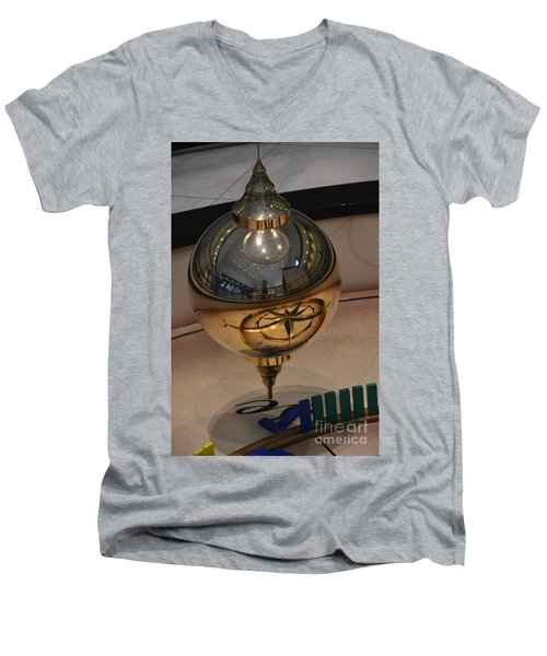 Men's V-Neck T-Shirt featuring the photograph Foucalt's Pendulum by Robert Meanor