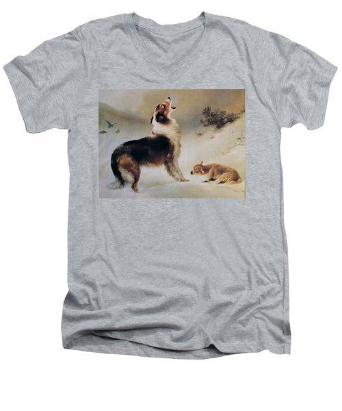 Found Men's V-Neck T-Shirt