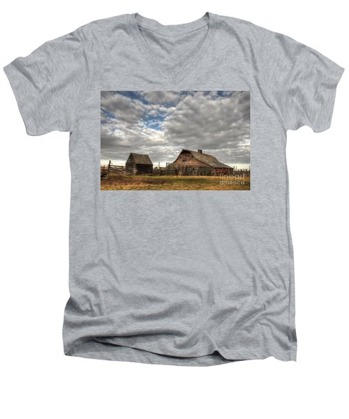 Found On The Prairies Men's V-Neck T-Shirt