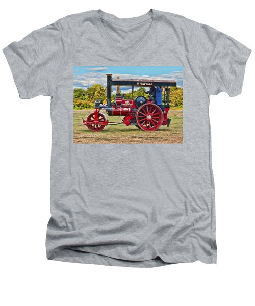 Fowler Road Roller Men's V-Neck T-Shirt