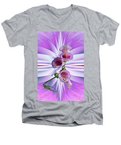 Foxglove Men's V-Neck T-Shirt
