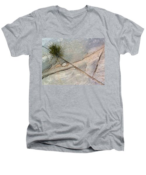 Fracture 1 Men's V-Neck T-Shirt