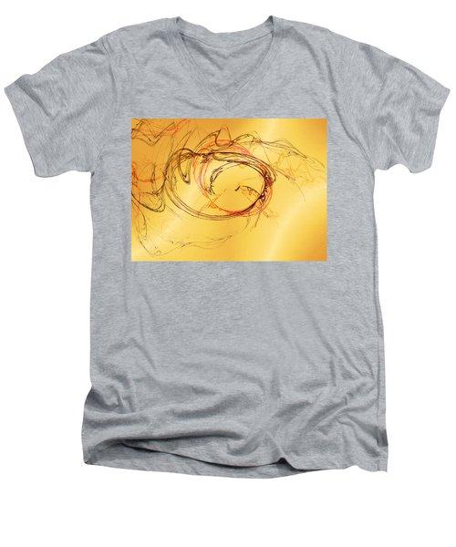 Fragile Not Broken Men's V-Neck T-Shirt
