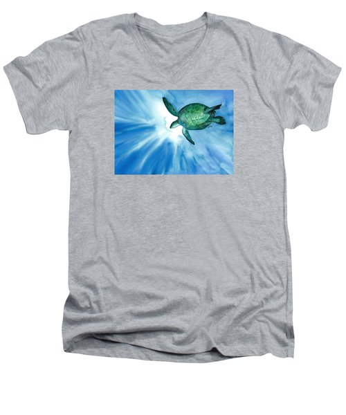 Sea Tutrle 2 Men's V-Neck T-Shirt