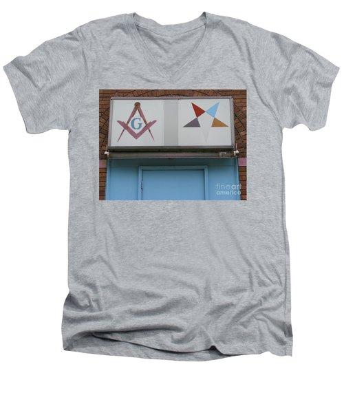 Freemasons Men's V-Neck T-Shirt