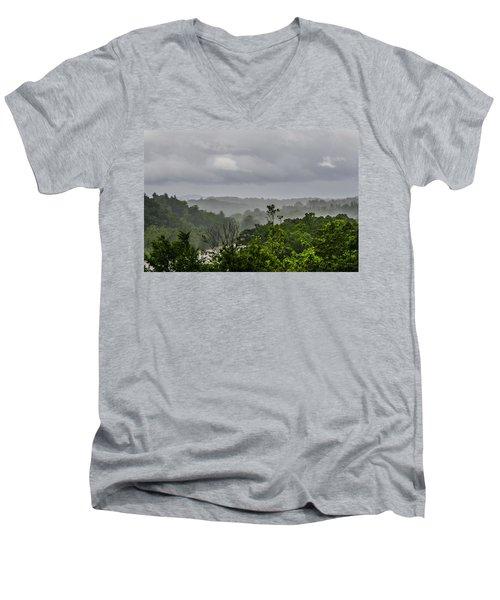 French Broad River Men's V-Neck T-Shirt