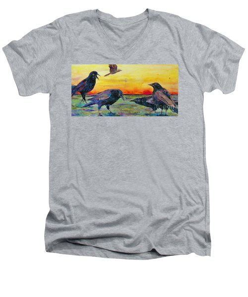 Frenemies Men's V-Neck T-Shirt