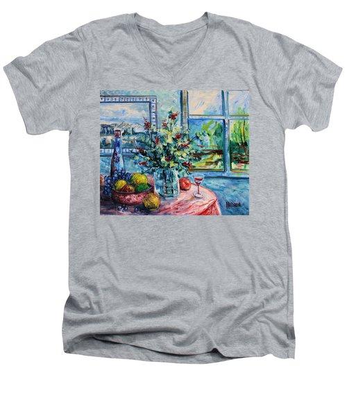 Fresh Spring Men's V-Neck T-Shirt