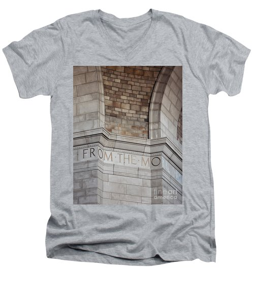 From The Moral... Men's V-Neck T-Shirt