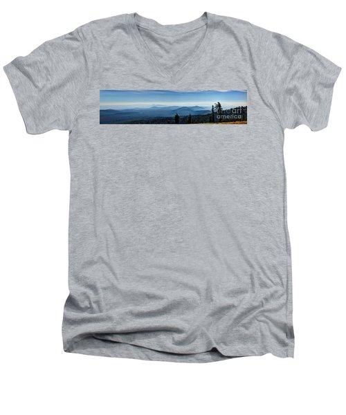 From The Rim Men's V-Neck T-Shirt