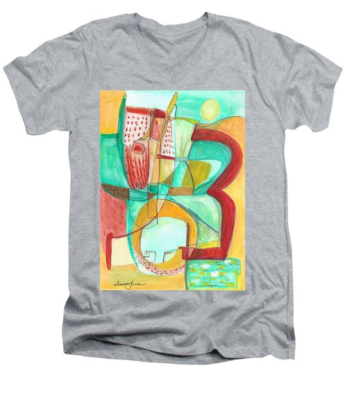 From Within 8 Men's V-Neck T-Shirt