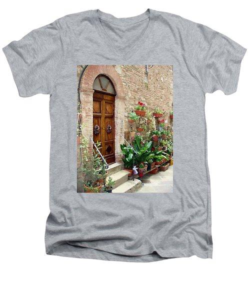 Front Door Men's V-Neck T-Shirt