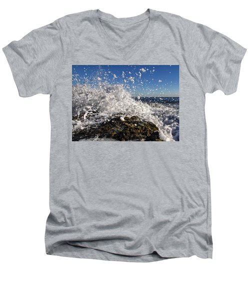 Froth And Bubble Men's V-Neck T-Shirt