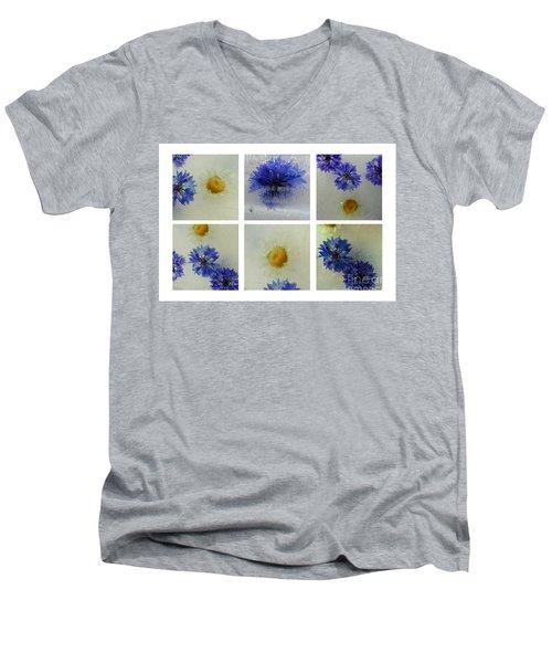 Frozen Blue Men's V-Neck T-Shirt