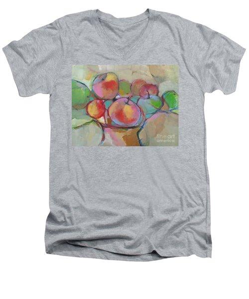 Fruit Bowl #5 Men's V-Neck T-Shirt