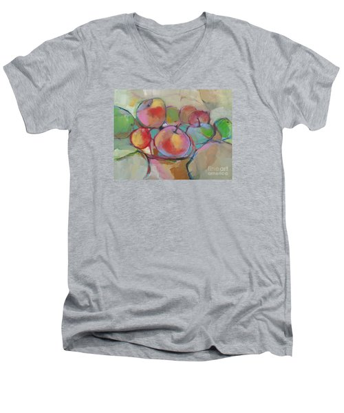 Fruit Bowl #5 Men's V-Neck T-Shirt