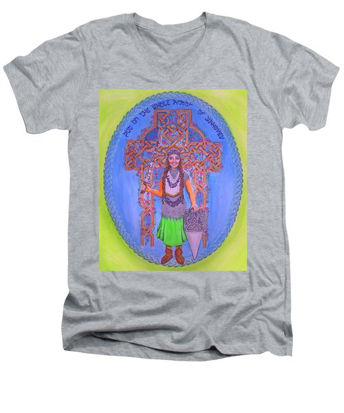 Full Armor Of Yhwh Woman Men's V-Neck T-Shirt