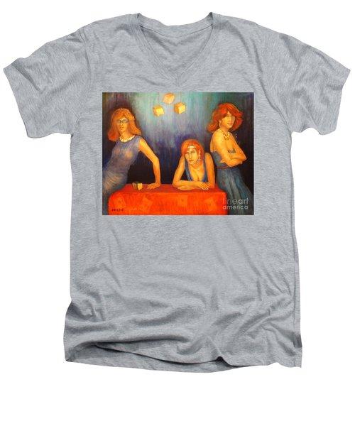 Game Table  Men's V-Neck T-Shirt