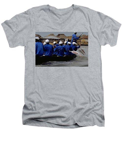 Ganvie - Lake Nokoue Men's V-Neck T-Shirt