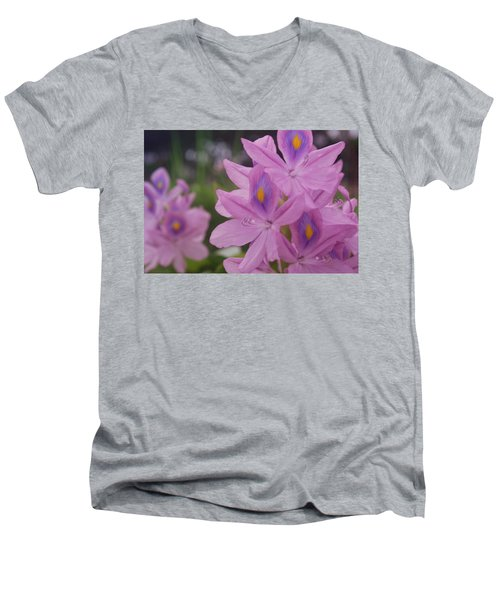 Men's V-Neck T-Shirt featuring the photograph Garden Is Watching by Miguel Winterpacht