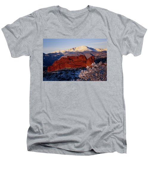 Garden Of The Gods Men's V-Neck T-Shirt