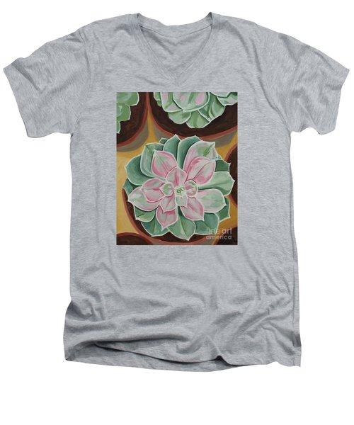 Garden Rossette Men's V-Neck T-Shirt