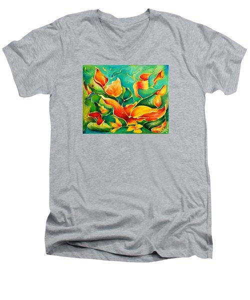 Garden Series No.3 Men's V-Neck T-Shirt