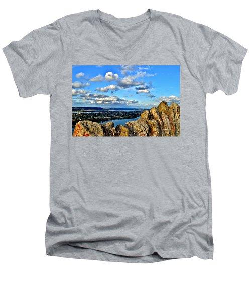 Garvin Heights Men's V-Neck T-Shirt