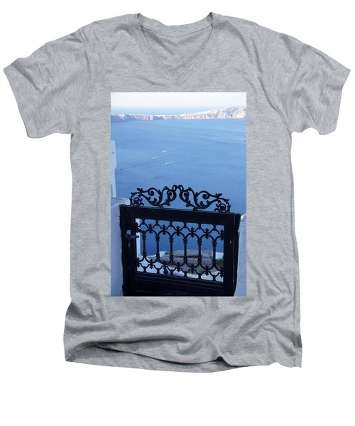 Gated Caldera Men's V-Neck T-Shirt