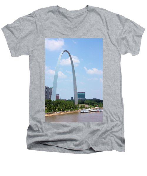 Gateway To The West Men's V-Neck T-Shirt