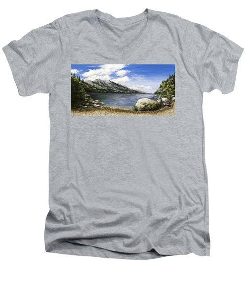 Gathering Moss Men's V-Neck T-Shirt