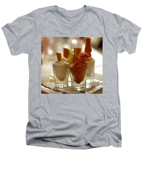 Gelato At Manducati's Rustica Men's V-Neck T-Shirt