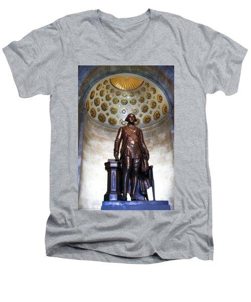 General Washington Men's V-Neck T-Shirt