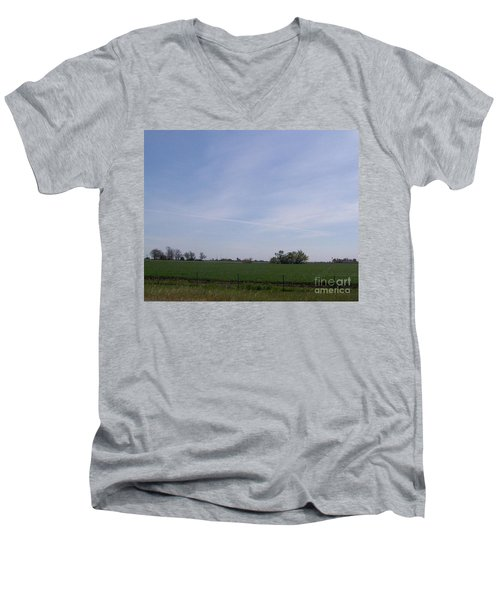 Men's V-Neck T-Shirt featuring the photograph Generations by Bobbee Rickard