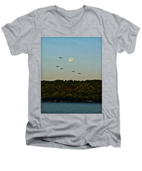 Geneseo Air Show Men's V-Neck T-Shirt