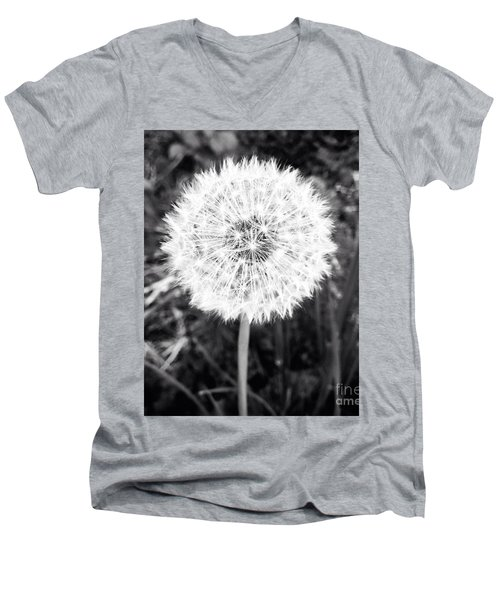 Men's V-Neck T-Shirt featuring the photograph Geodesicate by Vanessa Palomino