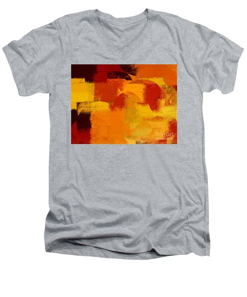 Geomix 05 - 01at01b Men's V-Neck T-Shirt